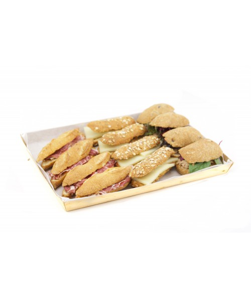 MINI CIABATTAS ASSORTMENT B (12 U.)