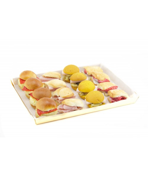 MINI CIABATTAS ASSORTMENT C (16 U.)
