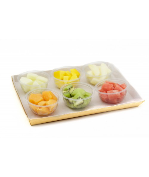FRUIT ASSORTMENT GLASSES (6u.)