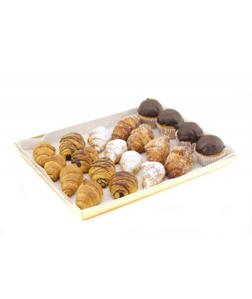 SELECTION OF MINI PASTRIES A (20 u.)