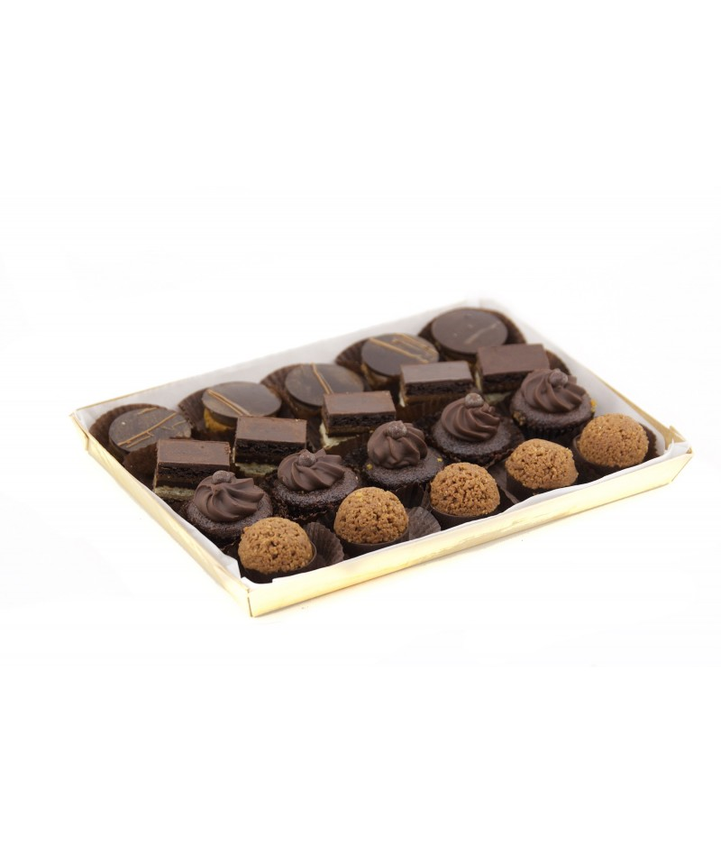 CHOCOLATE TEMPTATIONS TRAY (20 UNDS)