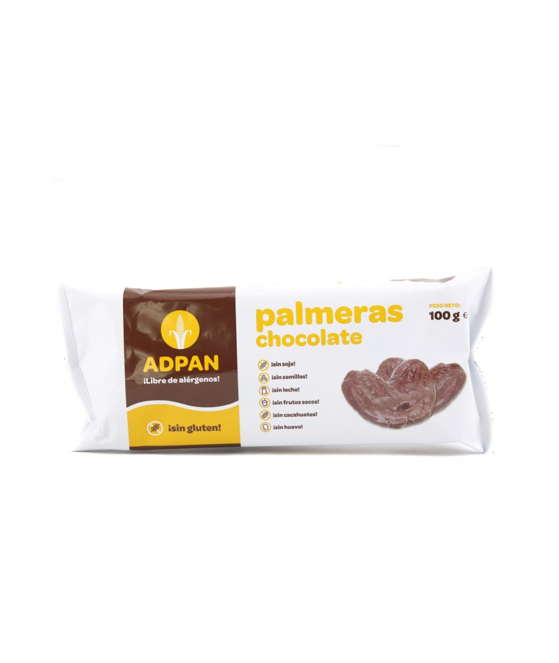 GLUTEN FREE CHOCOLATE PALMIERS (2 UNDS)