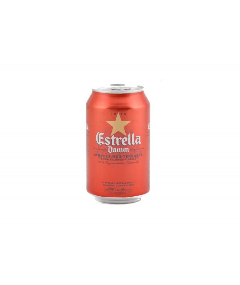 Estrella Damm beer (24 units)