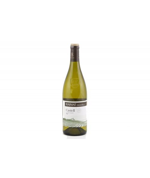 White wine Raimat Castell chardonnay 2017