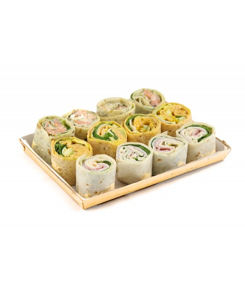 WRAPS ASSORTMENT (12 u.)