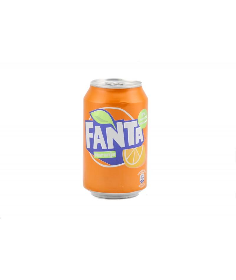 Orange Fanta – pack 24 units