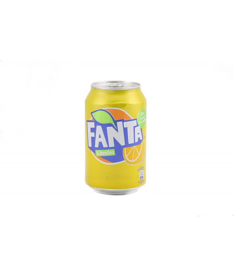 Lemon Fanta – pack 24 units