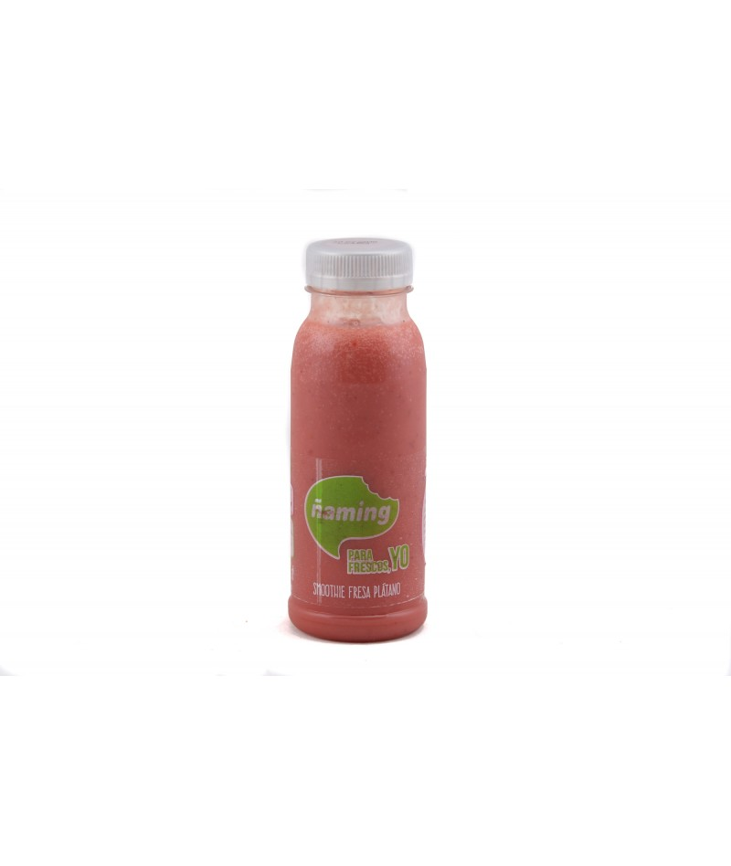 Strawberry & banana smoothie (250 ml)