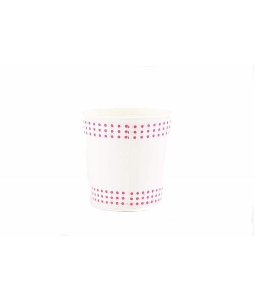 Disposable cardboard cups (75 units) 4oz
