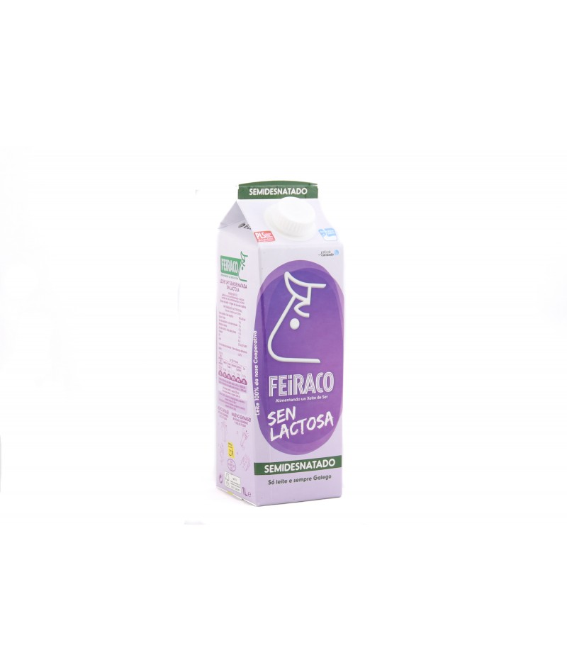 Skimmed and lactose free milk