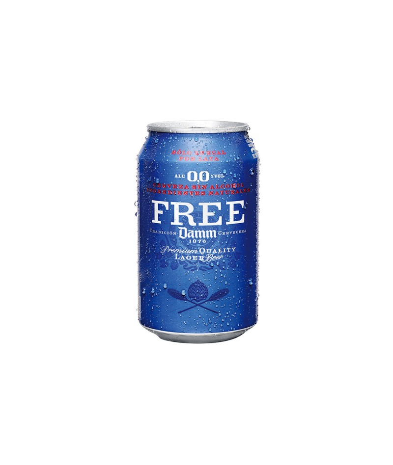 Free-Damm non-alcoholic beer (24 units)