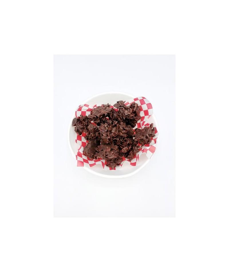 HAZELNUT FLAKES WITH CHOCOLATE (150GR)