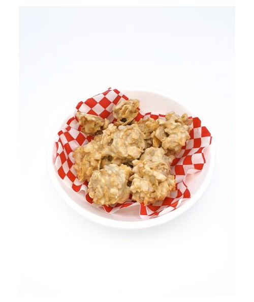 HAZELNUT FLAKES WITH WHITE CHOCOLATE (150GR)